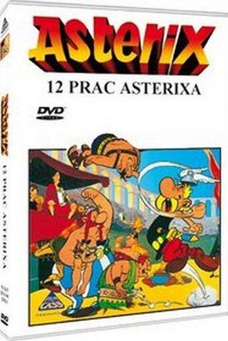 Asterix. 12 prac Asterixa - okładka filmu