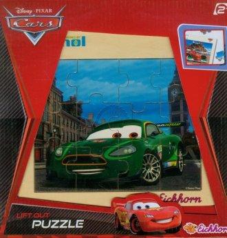 Auta 2 (puzzle drewniane) - zdjęcie zabawki, gry