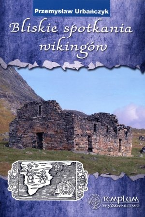 Bliskie spotkania wikingów - okładka książki
