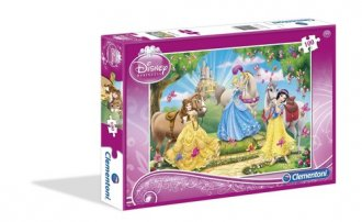 Disney. Księżniczki (puzzle 100-elem.) - zdjęcie zabawki, gry
