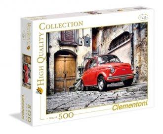 Fiat  (puzzle 500-elem.) - zdjęcie zabawki, gry