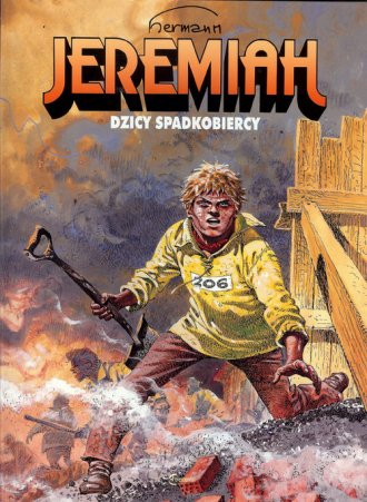 Jeremiah 3. Dzicy spadkobiercy - okładka książki