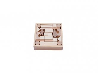 Klocki w skrzynce (50-elem.) - zdjęcie zabawki, gry