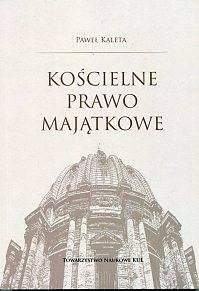 Kościelne prawo majątkowe - okładka książki