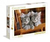 Koty (puzzle 500-elem.) - zdjęcie zabawki, gry