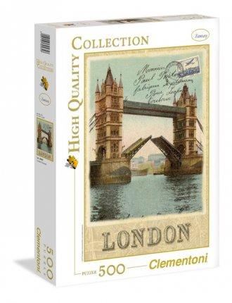 London Postcard (puzzle 500-elem.) - zdjęcie zabawki, gry