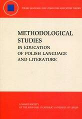 Methodological Studies in Education - okładka książki