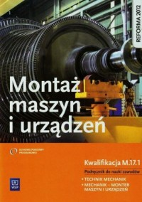 Monter maszyn i urządzeń. Podręcznik - okładka podręcznika