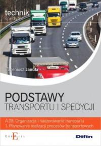 Podstawy transportu i spedycji - okładka książki