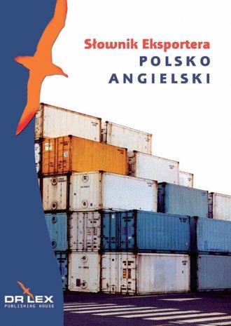 Polsko-angielski słownik eksportera - okładka podręcznika