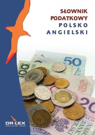 Polsko-angielski słownik podatkowy - okładka podręcznika