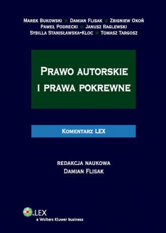 Prawo autorskie i prawa pokrewne. - okładka książki