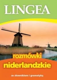 Rozmówki niderlandzkie ze słownikiem - okładka książki