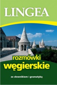 Rozmówki węgierskie ze słownikiem i gramatyką - okładka książki