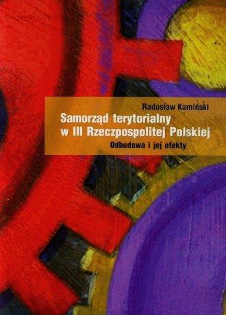 Samorząd terytorialny w III Rzeczpospolitej - okładka książki