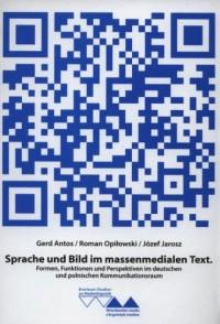 Sprache und Bild im massenmedialen - okładka książki
