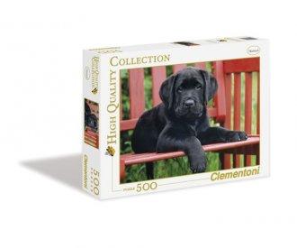 The Black dog (puzzle 500-elem.) - zdjęcie zabawki, gry