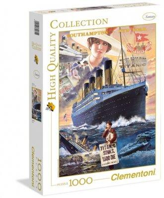 Titanic (puzzle High Quality Collection - zdjęcie zabawki, gry