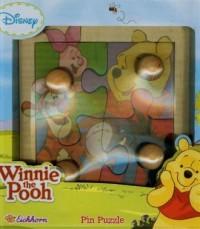 Winnie the Pooh. Moje pierwsze puzzle drewniane - zdjęcie zabawki, gry