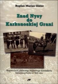 Znad Nysy do Karkonoskiej Grani - okładka książki