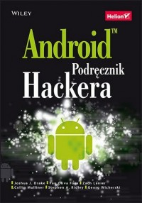Android. Podręcznik hackera - okładka książki