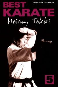 Best karate 5. Heian, Tekki - okładka książki