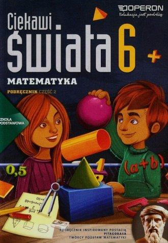 Ciekawi świata 6. Matematyka. Szkoła - okładka podręcznika