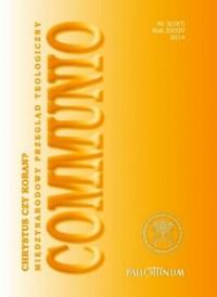 Communio nr 3(187)/2014. Chrystus czy Koran - okładka książki