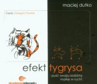 Efekt tygrysa - pudełko audiobooku