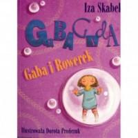 Gaba i rowerek - okładka książki