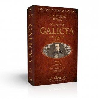 Galicya. Tom 1 - okładka książki