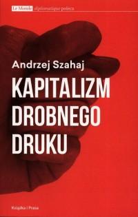 Kapitalizm drobnego druku - okładka książki