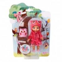Laleczka Mini Chou Chou Birdies (czerwona) - zdjęcie zabawki, gry