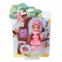 Laleczka Mini Chou Chou Birdies (fioletowa) - zdjęcie zabawki, gry
