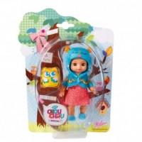 Laleczka Mini Chou Chou Birdies (niebiesko-różowa) - zdjęcie zabawki, gry