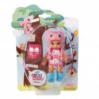 Laleczka Mini Chou Chou Birdies (różowa) - zdjęcie zabawki, gry