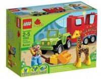 LEGO Duplo. Pojazd cyrkowy - zdjęcie zabawki, gry
