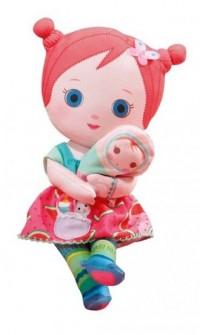 Mooshka lalka szmacianka Karia (24 cm) - zdjęcie zabawki, gry