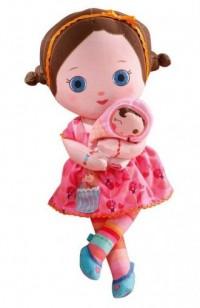 Mooshka lalka szmacianka Zana (24 cm) - zdjęcie zabawki, gry