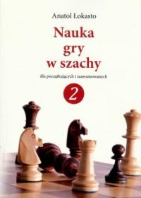 Nauka gry w szachy 2 - okładka książki