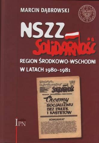 NSZZ Solidarność, Region Środkowo-Wschodni - okładka książki