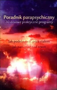 Poradnik parapsychiczny - okładka książki