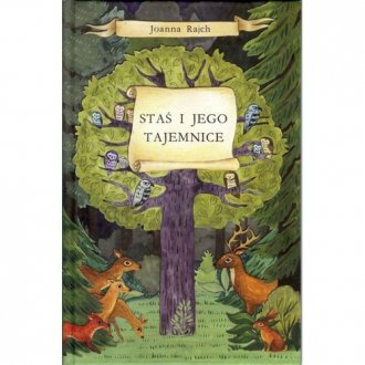 Staś i jego tajemnice - okładka książki