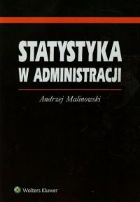 Statystyka w administracji - Andrzej - okładka książki