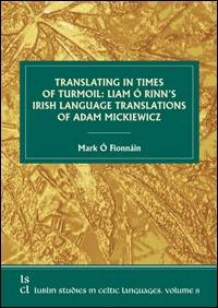 Translating in Times of Turmoil: - okładka książki