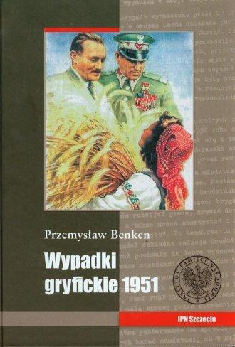 Wypadki gryfickie 1951 - okładka książki
