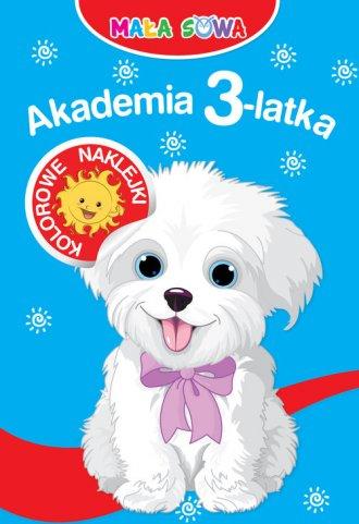 Akademia 3-latka. Mała sowa - okładka książki