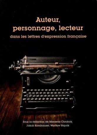 Auteur personnage lecteur dans - okładka książki