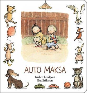 Auto Maksa - okładka książki