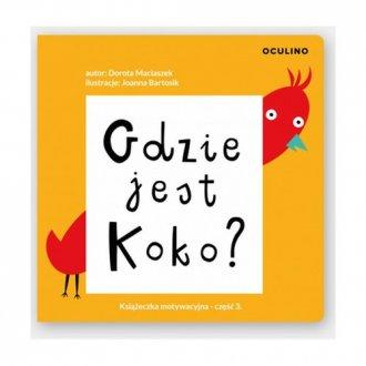 Gdzie jest Koko? - okładka książki